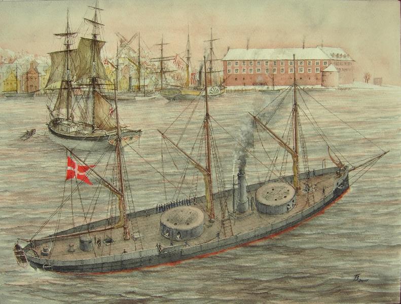 schiff de zeven provinzien